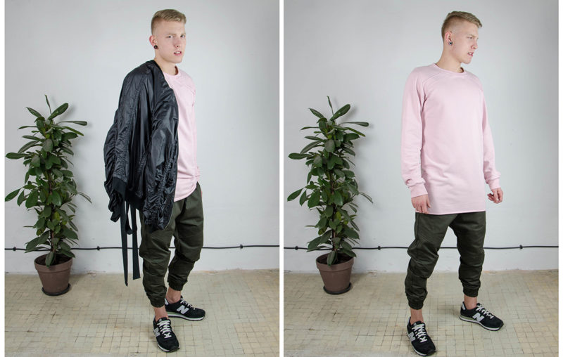 LOOKBOOK KOLEKCJI BASIC MENSWEAR +